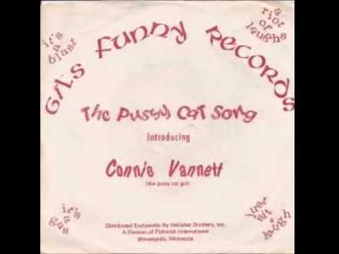 Connie Vannett - The Pussy Cat Song 1976 HQ Novelty Songs