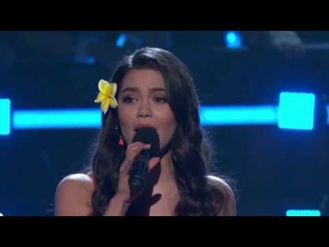 How Far Ill Go Alessia Cara, Aulii Cravalho & Jordan Fisher  2017 Radio Disney Music Awards