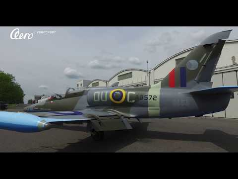 Czech Army L-159 aircraft changes colours to Spitfire camouflage
