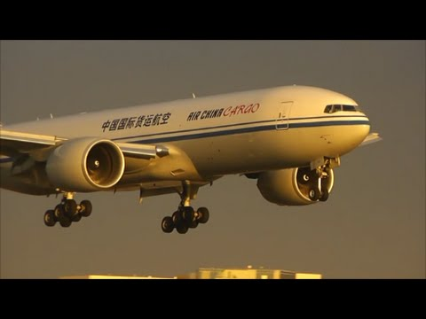 Evening Heavies at Los Angeles, LAX International Airport | 08/09/14