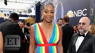 Tiffany Haddish Talks Diversity At The Emmys