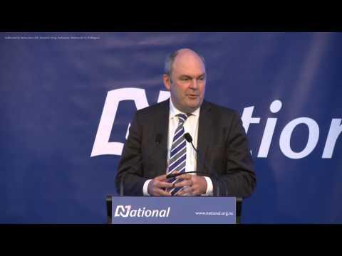 Hon Steven Joyce - on building the economy