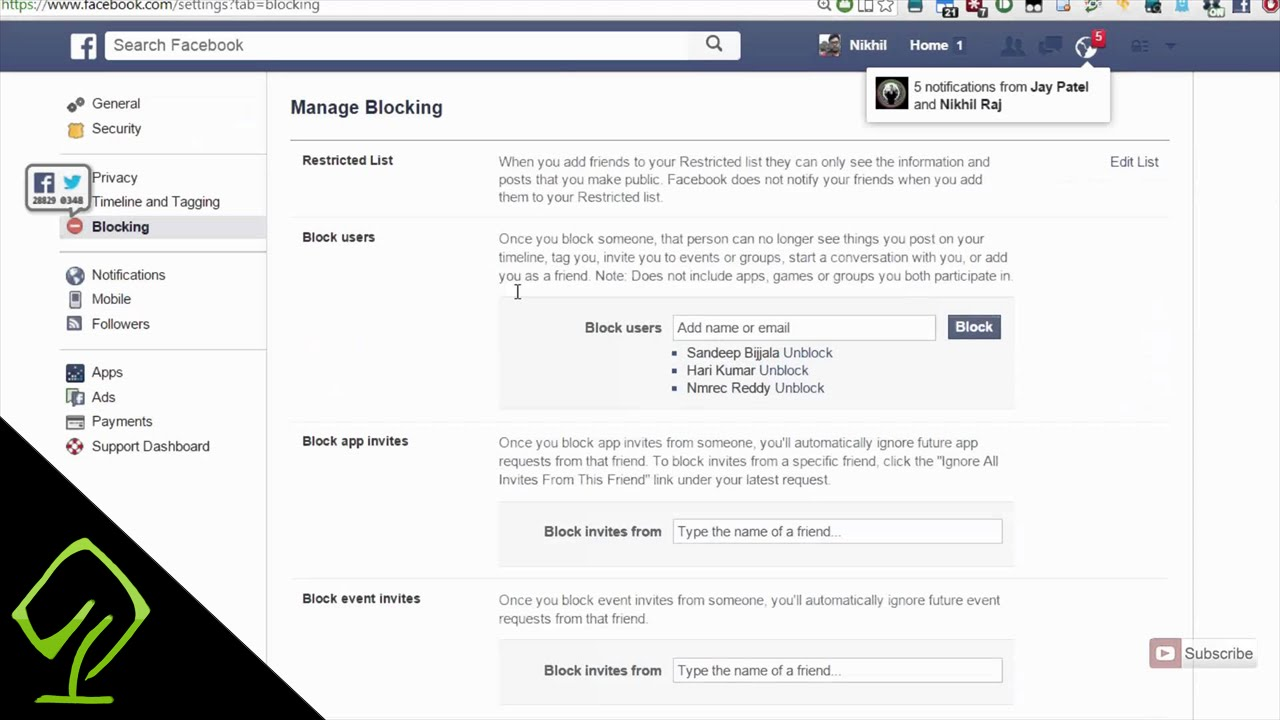How To Unblock An App From Sending App Game Request On Facebook