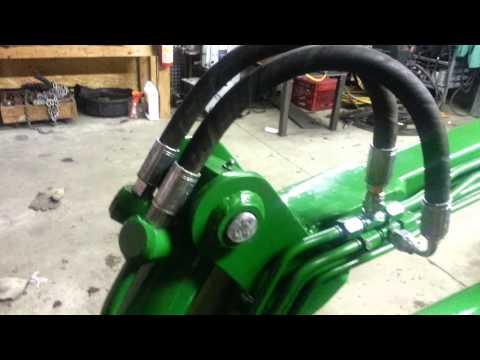 Cub cadet 1450 homemade backhoe and loader | FunnyCat TV