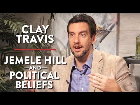 Clay Travis on Jemele Hill and His Political Beliefs  (Pt. 2)