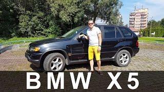 BMW X5 E53 3.0 231KM z LPG 2003 r  Prezentacja Test www.polmoto.pl