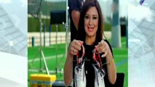 بالفيديو| في أول تعليق لها.. منى الشرقاوي تفجر «مفاجأة» في أزمة «حذاء ميسي»
