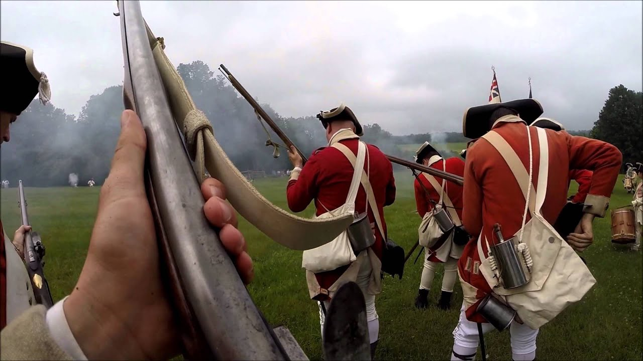Revolutionary War Reenactment, Battle of Monmouth 2015