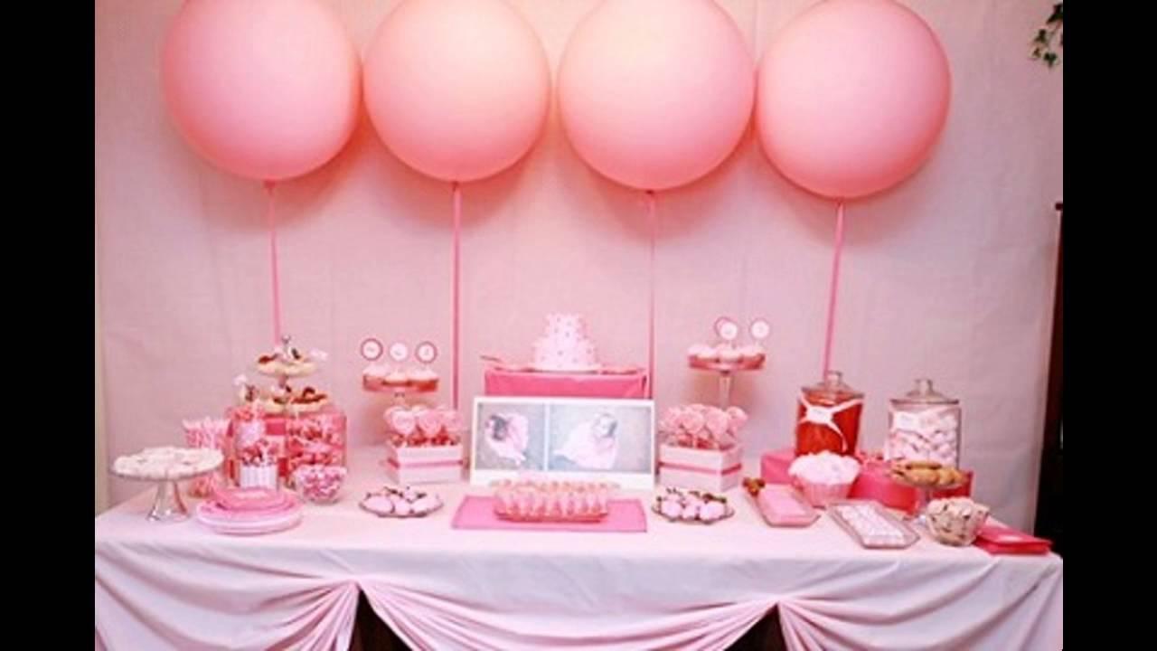 Ideas de decoraci n para baby shower decorating ideas - Decoracion baby shower nina sencillo ...