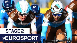 Paris-Nice 2019 | Stage 2 Highlights | Cycling | Eurosport