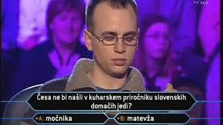 Milijonar z Jonasom (TV SLO 1, 01.03.2007)