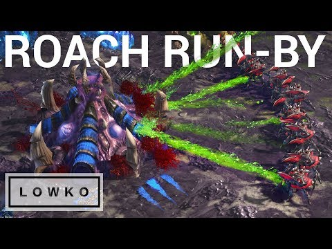 StarCraft 2: CHEEKY ROACH RUN-BY! (Snute vs Serral)