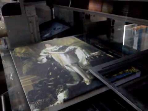 Технология печати картин на холсте 2