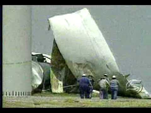 Wind Turbine Collapses Near Weatherford OK