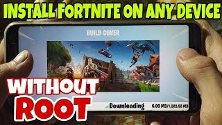How to Download Fortnite On incompatible Devices (How To Fix Fortnite incompatible Error)!!! 2019