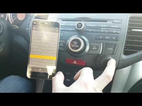 Bluetooth AUX адаптер с функцией громкой связи