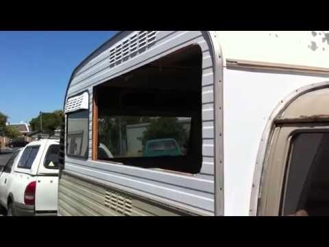 How to cut a serving hatch in a camper van.