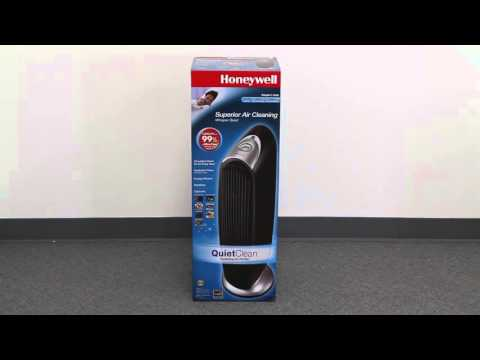 Honeywell QuietClean Tower Air Purifier with Permanent Washable Filters