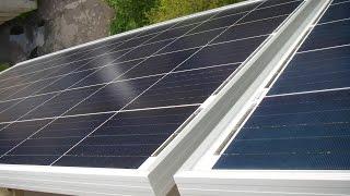 Солнечные панели Yingli Solar YL260P, 260 Вт / 24В на балконе(Солнечные панели Yingli Solar YL260P, 260 Вт / 24В Установлены на фасаде балкона многоквартирного дома. Направление..., 2016-04-29T20:06:25.000Z)