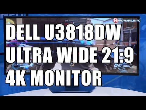 Dell U3818DW 38 inch 21:9 monitor review - Hardware.Info TV (4K UHD)