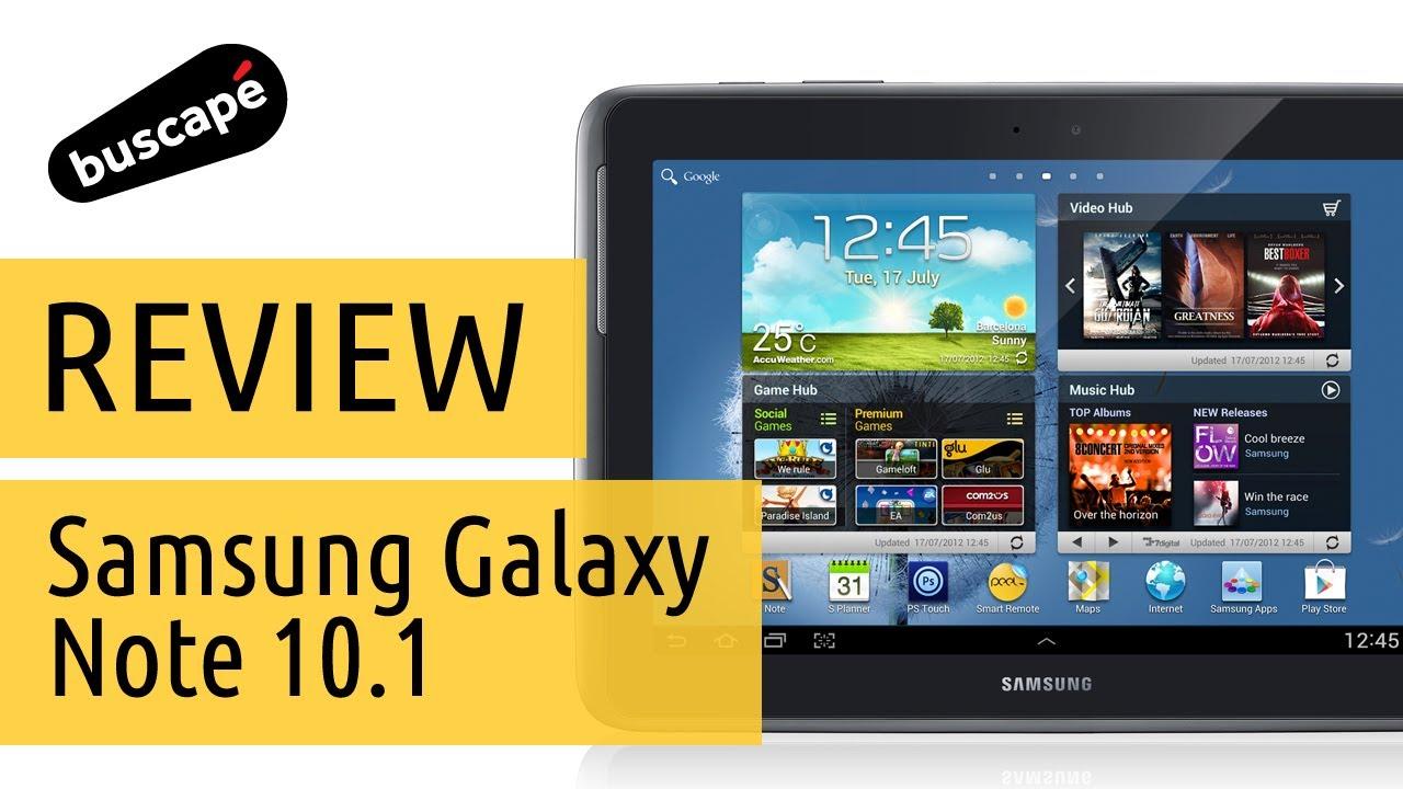 41bb20115 Samsung Galaxy Note 10.1 - Avaliação - YouTube