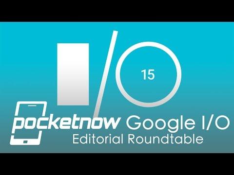 Google I/O 2015 Press Event Roundtable - Pocketnow