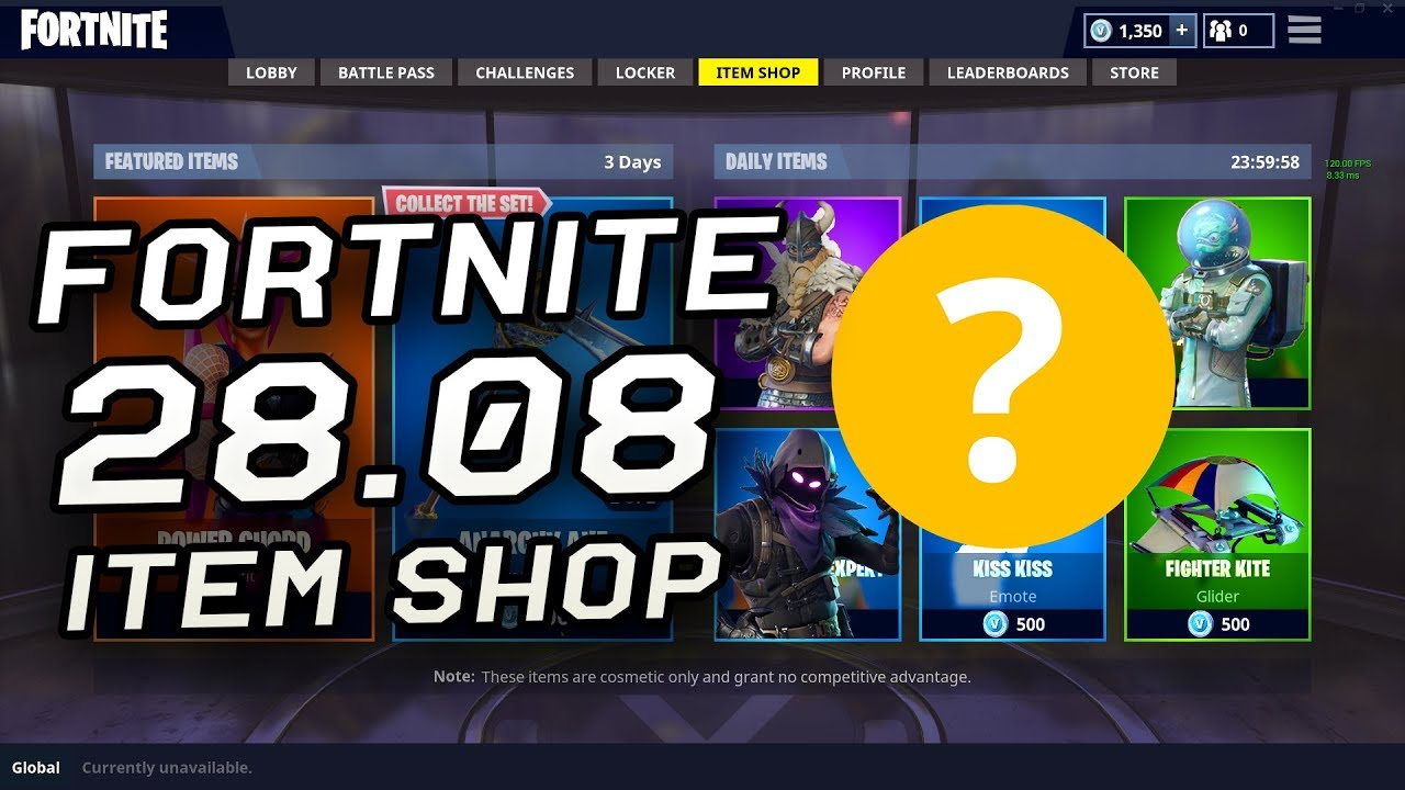 Fortnite Item Shop Today 28 August Update 28 08 Youtube