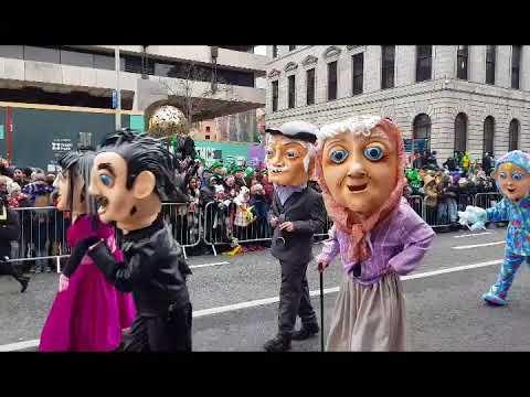 St. Patrick's Day Parade Dublin Ireland 17th March 2018