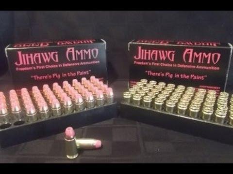 Pork Bullets Designed to Shoot Muslims