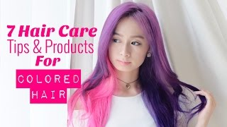 Hair Care Tips & Products for Extreme Colored Hair by Silvia Muryadi
