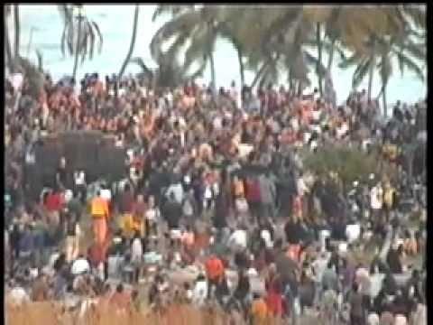 RAVE GOA INDIA free PARTY Vagator 1999 #1