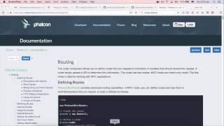 Giới thiệu routing trong Phalcon