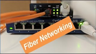 Network Two Buildings with Fiber Optic Cable