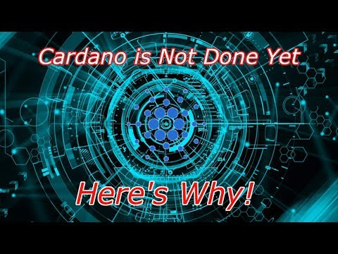 Cardano : Why is ADA Not Finished Running? Episode 414 - Crypto Technical Analysis