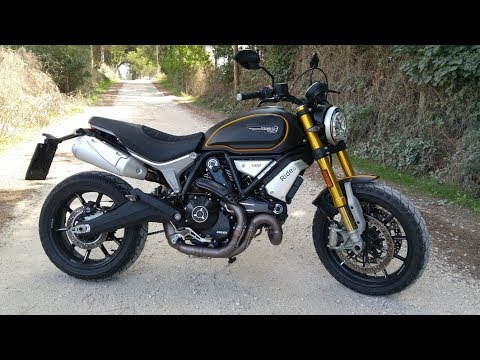 Ducati Scrambler 1100 Sport Start Up And Sound Youtube