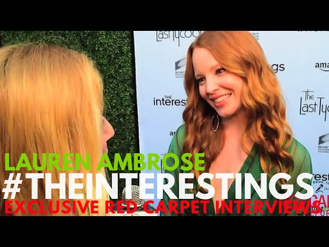 Lauren Ambrose ed at Sony Pictures Social Soiree for The Interestings AmazonPilots