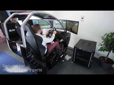 ECA GROUP - CAR DRIVING SIMULATION - EFX SOLUTIONS