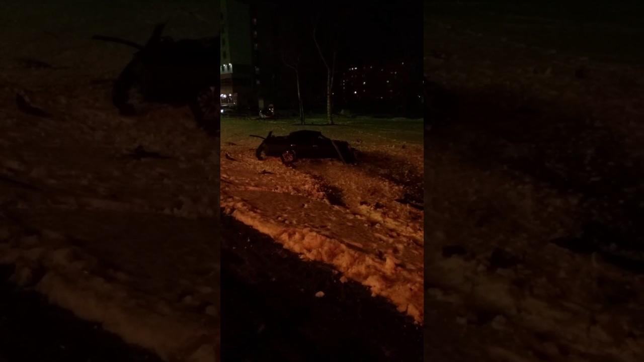 Сахалин авария 21.04.17