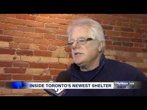 Video: Inside Toronto's newest men's shelter