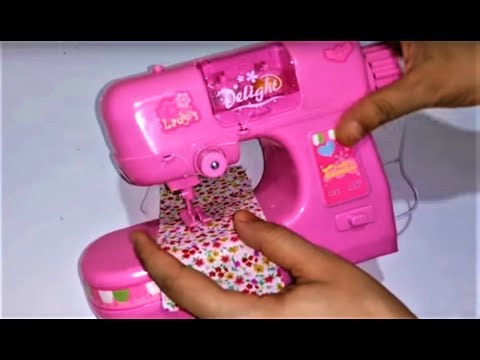 لعبة ماكينة الخياطة : العاب بنات