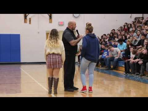 Teen Mental Health Motivational Speaker visits Gallia Academy Middle School
