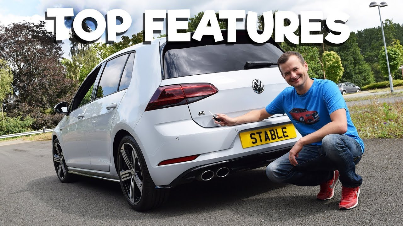 2018 golf r in white silver top features youtube. Black Bedroom Furniture Sets. Home Design Ideas