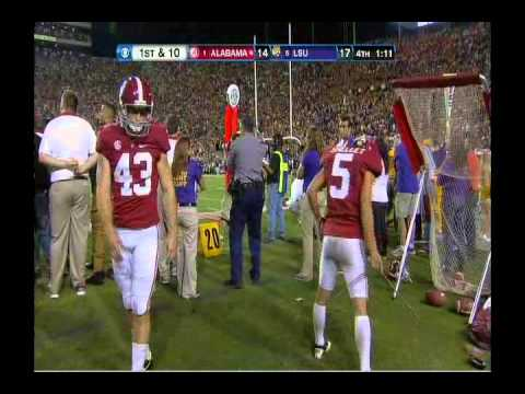 Final 7 minutes of the 2012 UA vs LSU game