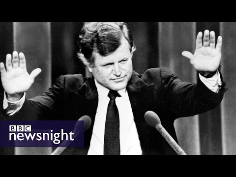 Ted Kennedy and the vitriolic 1980 US election - Newsnight archives