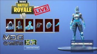 FORTNITE-LIVE-SQUAD-USING ICE SKINS-MDG GAMERS-WELCOME