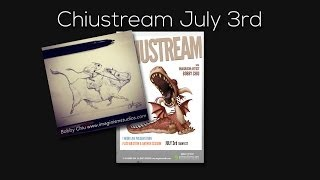 Get creativity flowing, worries of art directors, aggressive clients and more - Chiustream July 3rd
