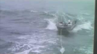 Coast Guard Group Humboldt Bay towing the Fishin Mortician