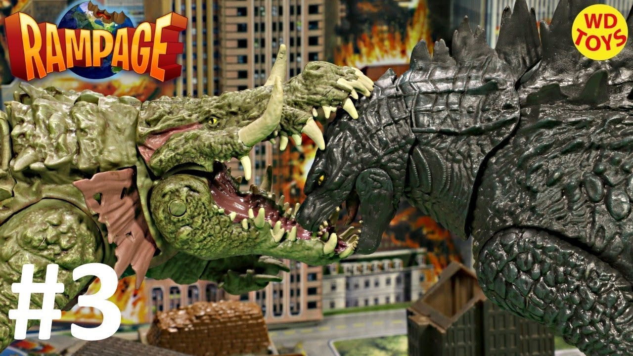 New Rampage The Movie Subject Lizzie Canister Contact Godzilla Vs Lizzie Lanard Toys Unboxing EP #3