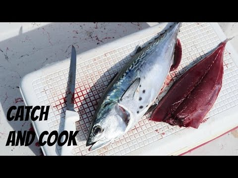 Catch And Cook Bonito Sashimi