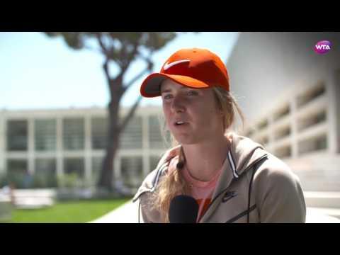 Elina Svitolina | 2017 Internazionali BNL d'Italia | Pre-Tournament Interview
